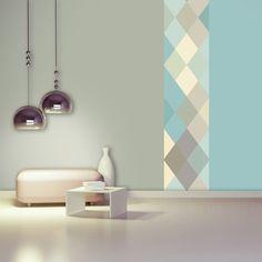 Lé de papier peint - D062013 - Nova pastel - Déco/Stickers et papiers peints - Design from Paris
