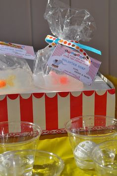 Big Top Circus Carnival Party! Birthday Circus Theme   Kara's Party Ideas