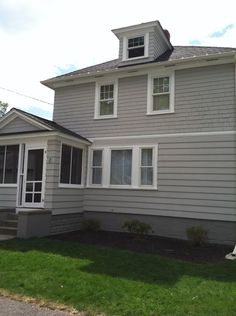 Benjamin Moore Platinum Gray Pierce Exterior Pinterest Benjamin Moore And Exterior