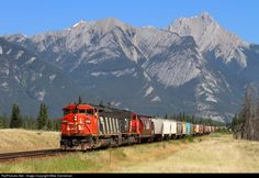 RailPictures.Net Photo: CN 5518 Canadian National Railway EMD SD60F at Henry House, Alberta, Canada by Mike Danneman