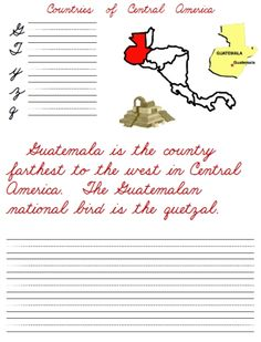 Central America Map | Central america map, Central america and ...