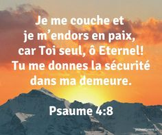 Ancien Testament: Les Psaumes Biblical Verses, Bible Verses, Prayer For Wife, Bible Encouragement, French Quotes, God First, Daughter Of God, Praise The Lords, Faith In God