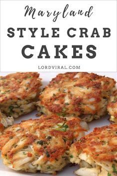 The key to making the best crab cakes is taking a cue from Maryland. Use the bes… The key to making the best crab cakes is taking a cue from Maryland. Use the best lump crab and go easy on the binder. Crab Cakes Recipe Best, Homemade Crab Cakes, Crab Cake Recipes, Fish Recipes, Seafood Recipes, Cooking Recipes, Lump Crab Meat Recipes, Seafood Appetizers, Seafood Dishes