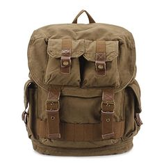 Castle Rock High Density Thick Canvas Backpack Rucksack -- Find out more about the great product at the image link.(This is an Amazon affiliate link and I receive a commission for the sales)