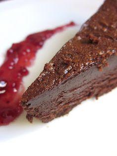 Tofu chocolate cake frosting