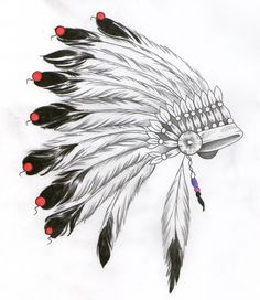 indian headdress design