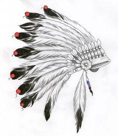 indian headdress design