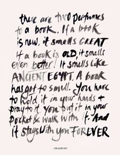 I love this ... And eBooks. Both/and is a good thing.
