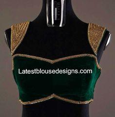 velvet blouse
