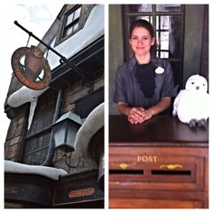 Mail a letter or postcard postmarked from Hogsmeade at Universal Orlando