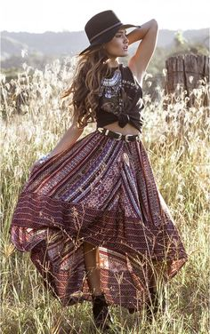 Boho gypsy hippie indie. Whatever style you call it it means you dress for your spirit.  @JustDarlingDays