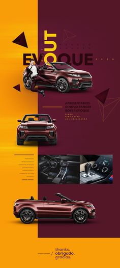 Behance is the world's largest creative network for showcasing and discovering creative work Car Advertising, Creative Advertising, Advertising Design, Website Design Layout, Web Layout, Layout Design, Creative Poster Design, Creative Posters, Presentation Layout