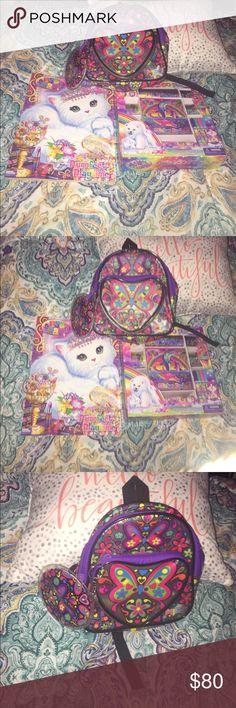85586a4b292 🌈Cute Lisa Frank Collectors Bundle🌈 This Bundle Includes  1) Vintage  Butterfly Lisa
