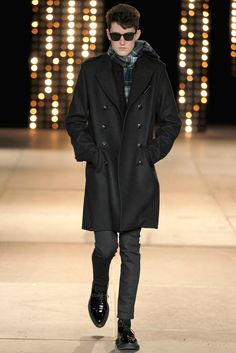 Saint Laurent Fall 2014 Menswear Fashion Show