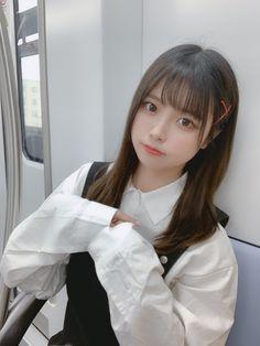 Cute Korean Girl, Cute Asian Girls, Cute Girls, Beautiful Japanese Girl, Beautiful Asian Women, Cute Kawaii Girl, School Girl Japan, Cute Cafe, Asian Love