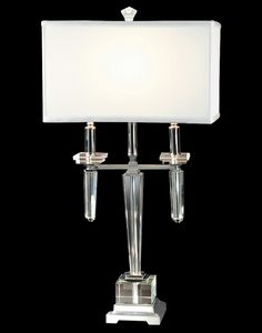 Dale Tiffany Lowell Crystal Table Lamp -