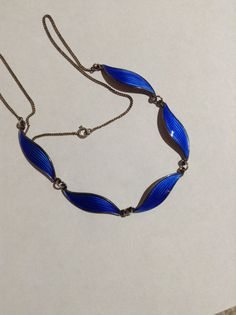 Check out this item in my Etsy shop https://www.etsy.com/listing/257670540/necklace-norway-blue-guilloche-enamel