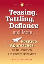 Teasing, Tattling, Defiance and More. Positive Approaches to 10 Common Classroom Behaviors by Margaret Berry Wilson Student Behavior, Classroom Behavior, Future Classroom, Classroom Ideas, Preschool Behavior, Preschool Classroom, Teacher Books, Teacher Resources, Teaching Ideas