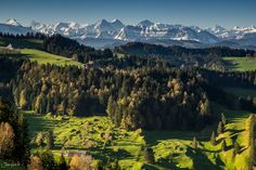 From small to big hills by Jan Geerk on Mountains, Big, Switzerland, Nature, Travel, Outdoor, Pictures, Outdoors, Naturaleza