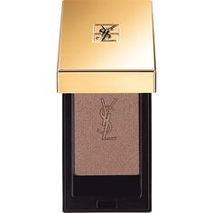 Yves Saint Laurent Beauty Women's Couture Mono Eyeshadow (€28) ❤ liked on Polyvore featuring beauty products, makeup, eye makeup, eyeshadow, brown and yves saint laurent
