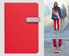 Fancy - Arwey Notebook - Laur - Red
