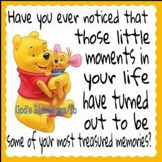 The little moments in your life love quotes inspirational quotes inspiring quote. The little moments in your life love quotes inspirational quotes inspiring quotes sweet quotes quote of the day love pic winnie the pooh quotes Winnie The Pooh Pictures, Cute Winnie The Pooh, Winnie The Pooh Friends, Eeyore Pictures, Love Life Quotes, Cute Quotes, Funny Quotes, Sweet Quotes, Cartoon Quotes