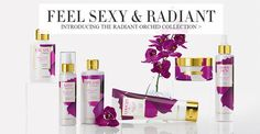 A Professionista is Radiant! Shop our New Bath & Beauty Line - Radiant Orchid ... feel beautiful from the inside out!