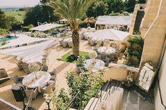Outdoor Reception | Luxury Destination Wedding | Neutral Colour Palette | Chateau Les Carrasses South of France | Modern Vintage Weddings | http://www.rockmywedding.co.uk/megan-joshua/