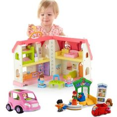 Little People Home to Market Gift Set | BrandsLittlePeople | Fisher Price