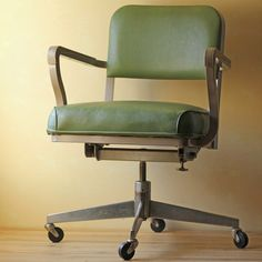 awesome vintage chair awesome green office chair
