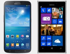 Vergelijking Samsung Galaxy Mega vs Nokia Lumia 925 | Versus OS