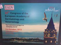 #eadv2013 #istanbul #aestheticmedicine #perfectha