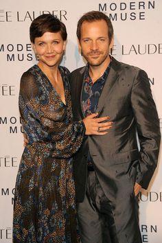 Maggie Gyllenhaal and her husband, Peter Sarsgaard...