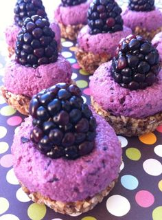 Raw Berry Cream Tarts- A Simply Raw Life