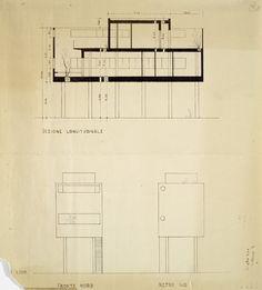 Casa al Villaggio del Giornalisti 1933 - 1935 /Luigi Figini