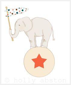 Circus Elephant www.hollyabston.com