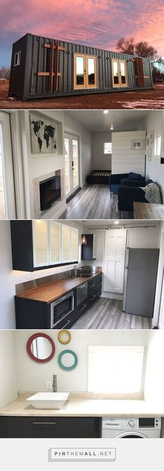 Intellectual Tiny Home Shipping Container