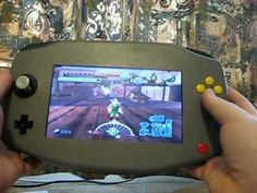 Updated dmbjunky's N64 handheld portable - YouTube
