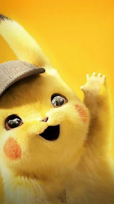 Pokemon Detective Pikachu New Wallpaper Cute Pokemon Wallpaper, Cartoon Wallpaper Iphone, Cute Disney Wallpaper, Cute Cartoon Wallpapers, Gaming Wallpapers, Marvel Wallpaper, Perfect Wallpaper, Pikachu Cat, Pikachu Drawing
