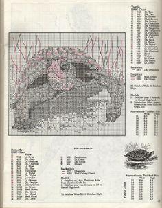 ru / Фото - Woodland Wildlife (Cross My Heart) - mayaak Cross Stitch Sea, Cross Stitch Animals, Cross Stitch Embroidery, Cross Stitch Patterns, Polly Polly, Turtle Crafts, Beautiful Words, Fabric Crafts, Woodland