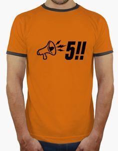 T-shirt Megafono - 5!!