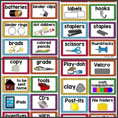 image about Printable Classroom Labels referred to as 42 Suitable Clroom Labels pics within 2017 Clroom set up