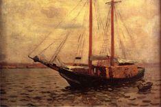 :Anschutz Thomas P The Lumber Boat.