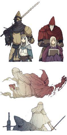 Sif Dark Souls, Arte Dark Souls, Dark Fantasy, Fantasy Art, Bloodborne Art, Soul Art, Animes Wallpapers, Fantasy Characters, Game Art
