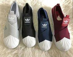 97fff64699d86 Tênis Adidas Slip On