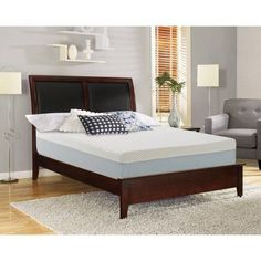lucid 16 inch plush memory foam and latex mattress fourlayer infused with bamboo charcoal natural latex and certipurus certified foam 25u2026