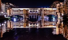 ponte vecchio in florence (italy), night hdr - firenze, italia | by Paolo Margari