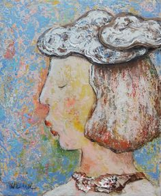 "Another portrait ""Aliénor"" 2016 Mixedmedia on canvass 22x27 cm (acrylic paper collage...) Original paintings and prints on : http://ift.tt/2blljY7  #art #painting #artforsale #artberlin #fineart #artgallery #mixedmedia #artsanfrancisco"