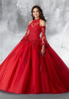 72 Best Red Quinceanera Dresses Images In 2019 Red Quinceanera