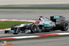 Michael Schumacher, Mercedes Grand Prix, 2012 Malaysian Formula 1 Grand Prix, Formula 1